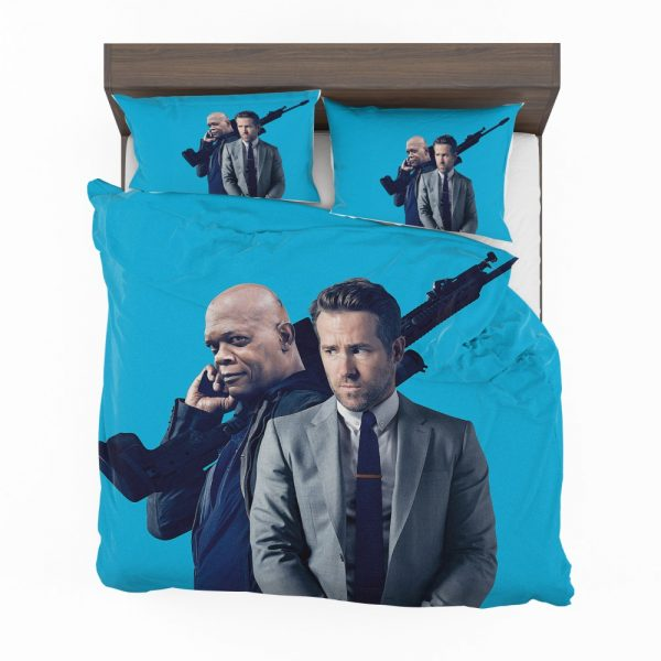 The Hitman's Bodyguard Movie Ryan Reynolds Samuel L Jackson Bedding Set 2