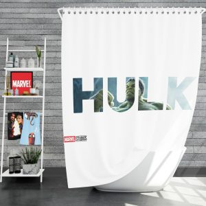 The Incredible Hulk Movie Shower Curtain