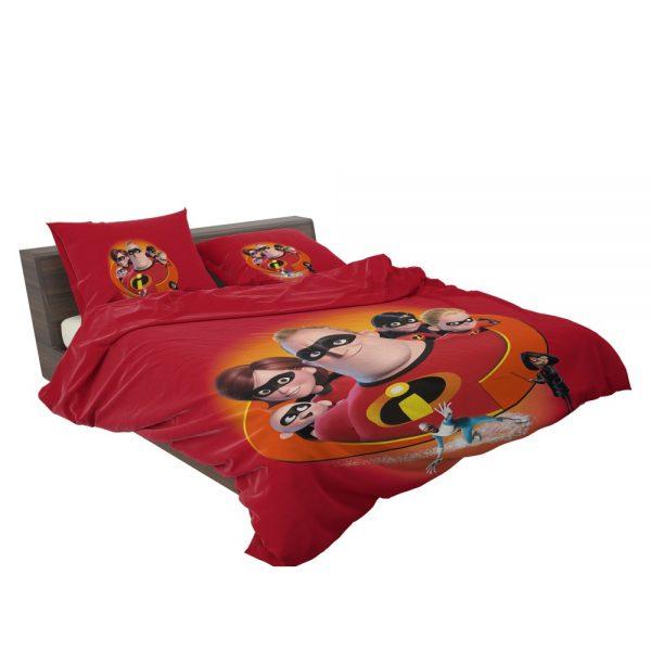 The Incredibles Movie Bob Parr Dash Parr Disney Elastigirl Helen Parr Bedding Set 3
