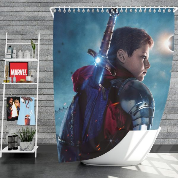 The Kid Who Would Be King Movie Shower Curtain