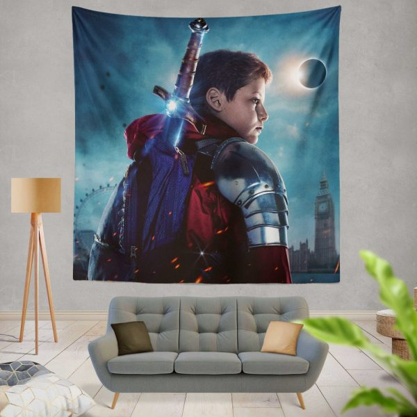 The Kid Who Would Be King Movie Wall Hanging Tapestry