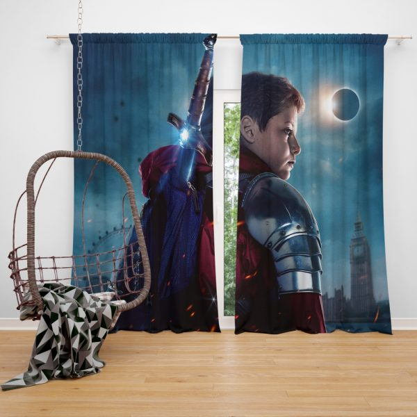 The Kid Who Would Be King Movie Window Curtain