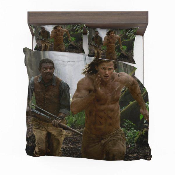 The Legend of Tarzan Movie Alexander Skarsgård Samuel L Jackson Bedding Set 2