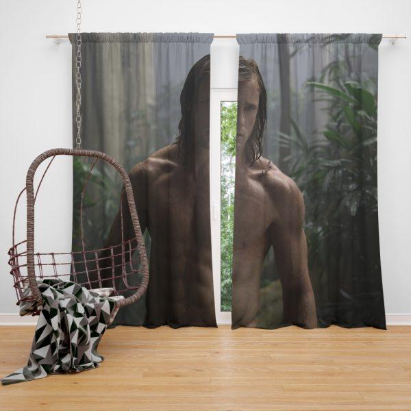 The Legend of Tarzan Movie Alexander Skarsgård Tarzan The Legend of Tarzan Window Curtain