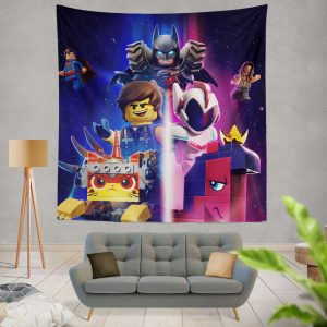 The Lego Movie 2 The Second Part Movie Aquaman Batman Superman Wall Hanging Tapestry