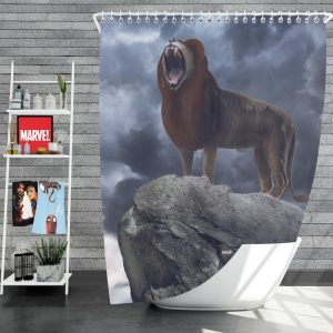 The Lion King 2019 Movie Simba Disney Shower Curtain