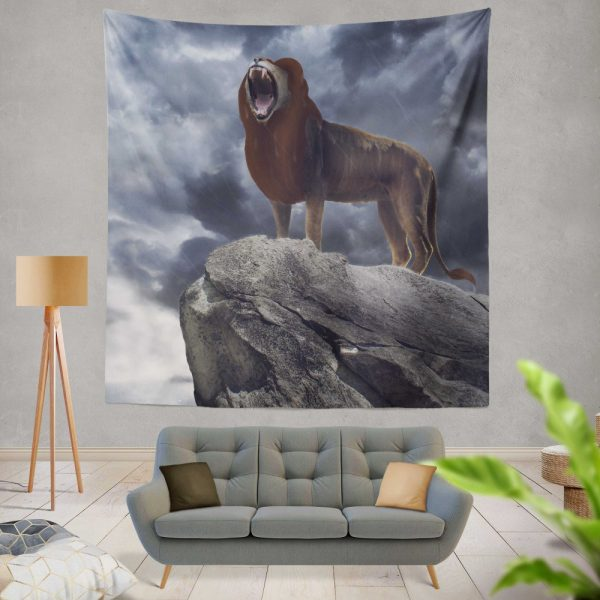 The Lion King 2019 Movie Simba Disney Wall Hanging Tapestry