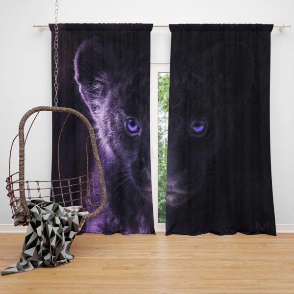 The Lion King 2019 Movie Simba Teen Window Curtain