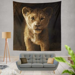 The Lion King 2019 Movie Simba Wall Hanging Tapestry