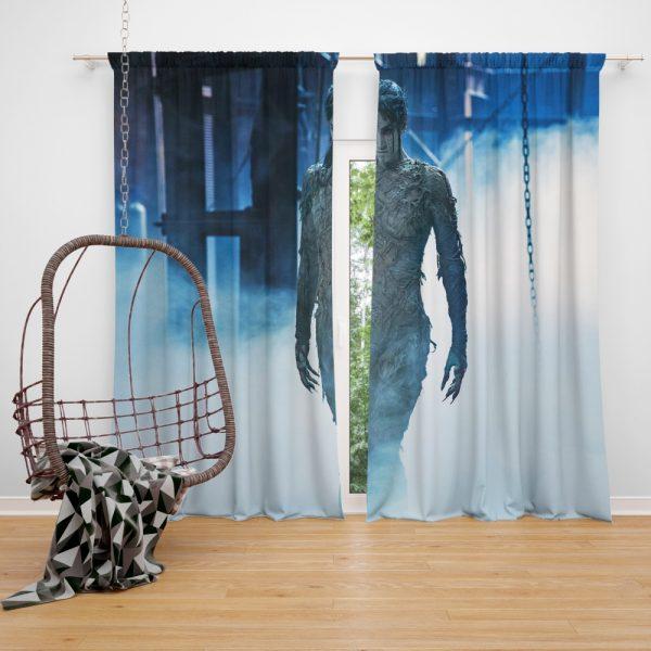 The Mummy 2017 Movie Sofia Boutella Window Curtain