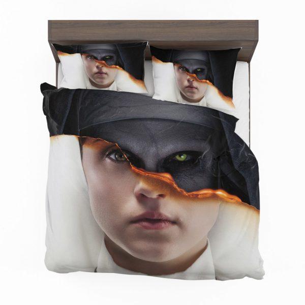 The Nun Movie Evil Girl Bedding Set 2