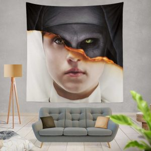 The Nun Movie Evil Girl Wall Hanging Tapestry
