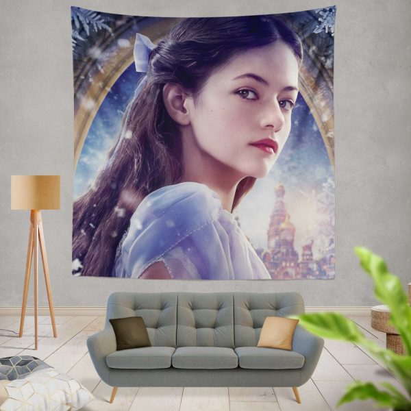 The Nutcracker and the Four Realms Movie Mackenzie Foy Wall Hanging Tapestry