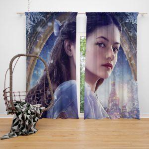 The Nutcracker and the Four Realms Movie Mackenzie Foy Window Curtain