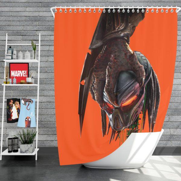 The Predator Movie Alien Movie Sci Fi Shower Curtain