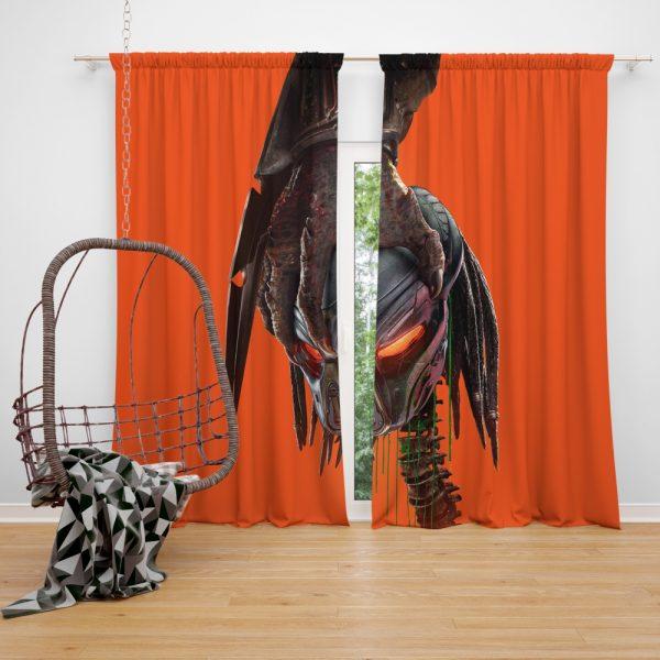 The Predator Movie Alien Movie Sci Fi Window Curtain