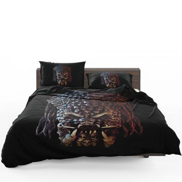 The Predator Movie Alien Sci Fi Skull Bedding Set 1