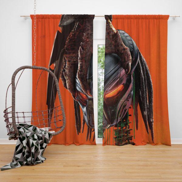 The Predator Movie Sci Fi Window Curtain