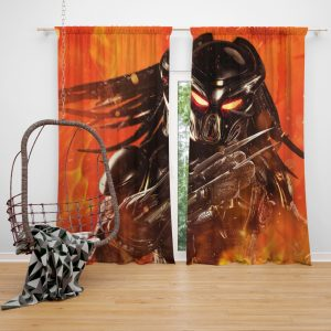 The Predator Movie Window Curtain