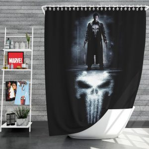 The Punisher Movie 2004 Shower Curtain