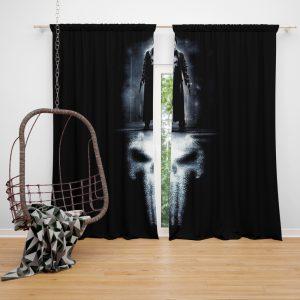 The Punisher Movie 2004 Window Curtain