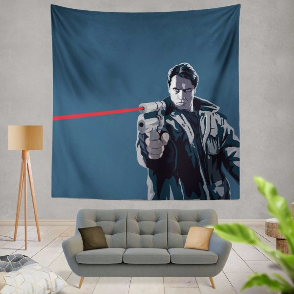 The Terminator Movie Wall Hanging Tapestry