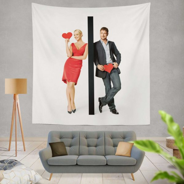 The Ugly Truth Movie Gerard Butler Katherine Heigl Wall Hanging Tapestry