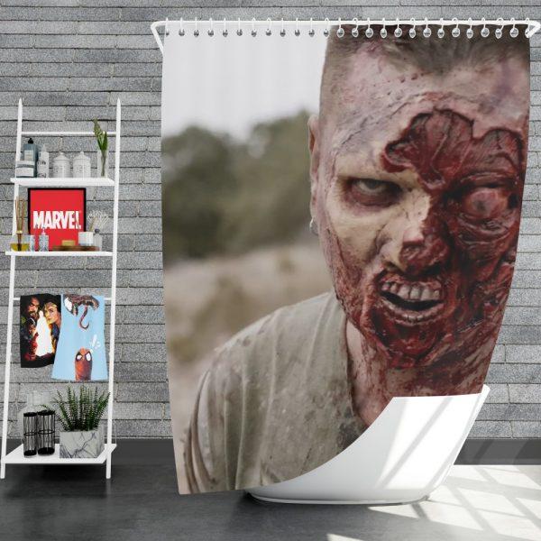 The Walking Deceased Movie Shower Curtain