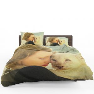 The Zookeeper's Wife Movie Jessica Chastain Bedding Set 1