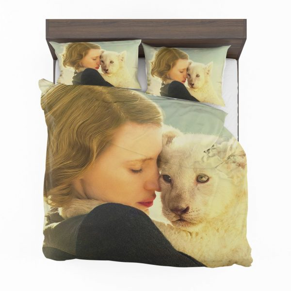 The Zookeeper's Wife Movie Jessica Chastain Bedding Set 2