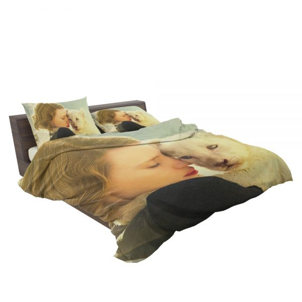 The Zookeeper's Wife Movie Jessica Chastain Bedding Set 3