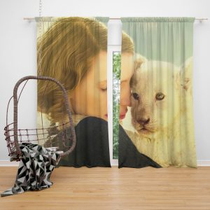 The Zookeeper's Wife Movie Jessica Chastain Window Curtain