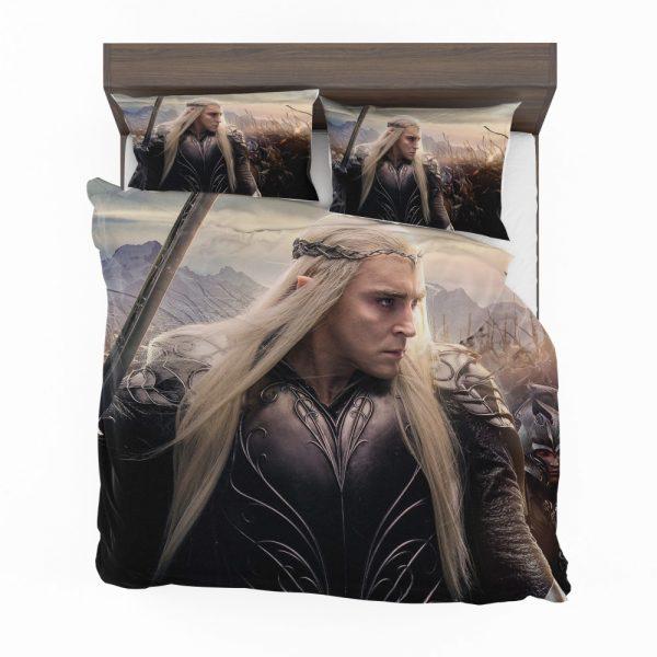 Thranduil Elvenking in The Hobbit Battle of the Five Armies Movie Bedding Set 2