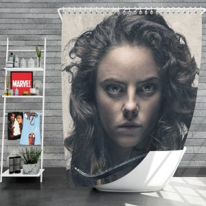 Tiger House Movie Kaya Scodelario Shower Curtain