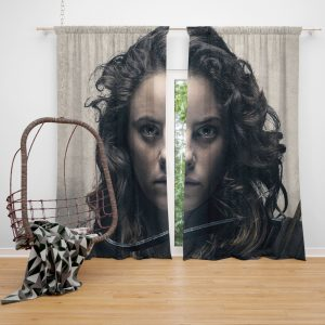 Tiger House Movie Kaya Scodelario Window Curtain
