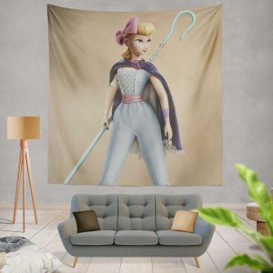 Toy Story 4 Movie Bo Peep Wall Hanging Tapestry