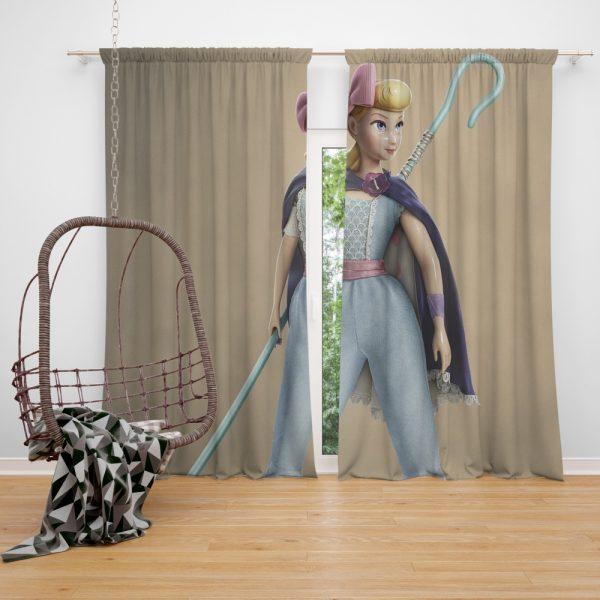 Toy Story 4 Movie Bo Peep Window Curtain