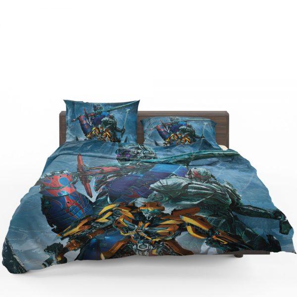 Transformers The Last Knight Movie Bumblebee Megatron Optimus Prime Bedding Set 1
