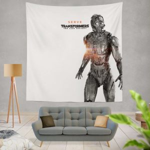 Transformers The Last Knight Movie Cogman Wall Hanging Tapestry