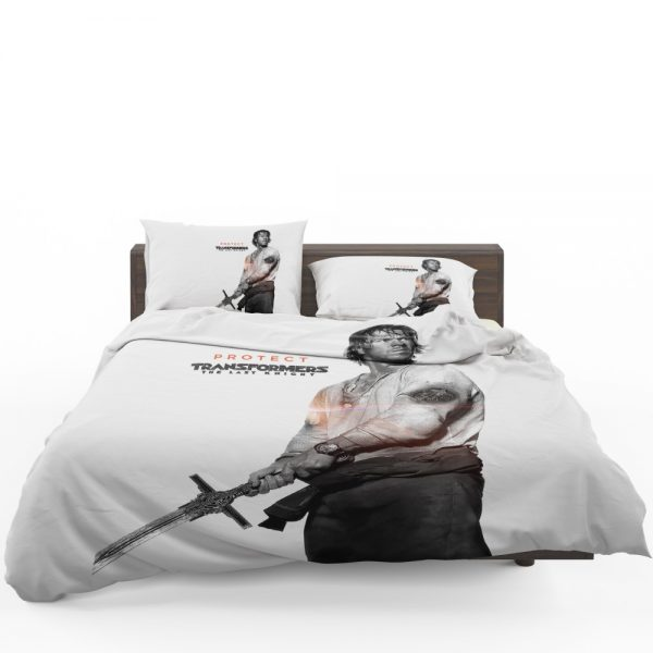 Transformers The Last Knight Movie Mark Wahlberg Bedding Set 1