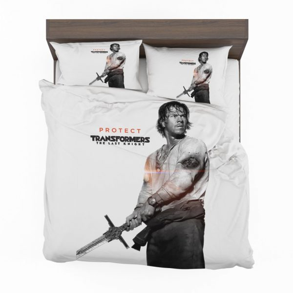 Transformers The Last Knight Movie Mark Wahlberg Bedding Set 2