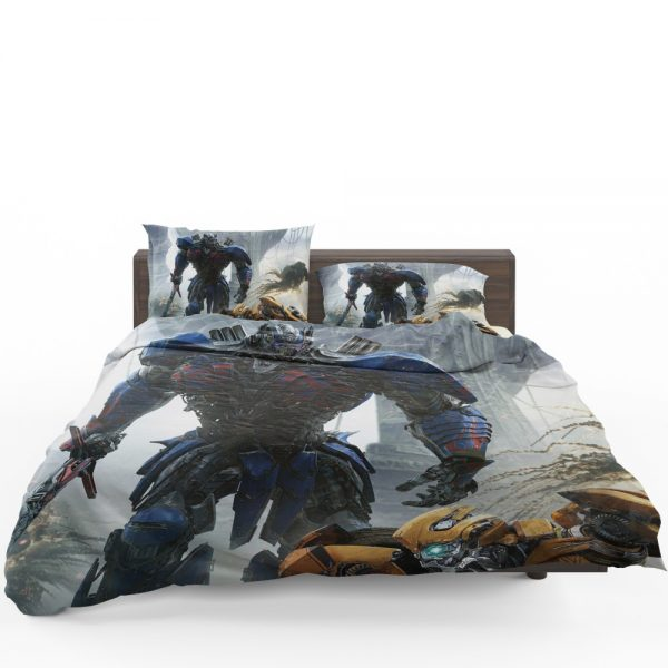 Transformers The Last Knight Movie Optimus Prime Bedding Set 1
