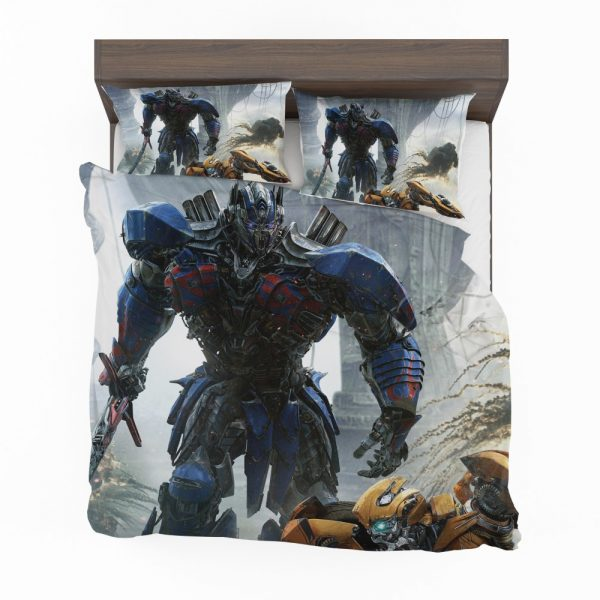 Transformers The Last Knight Movie Optimus Prime Bedding Set 2