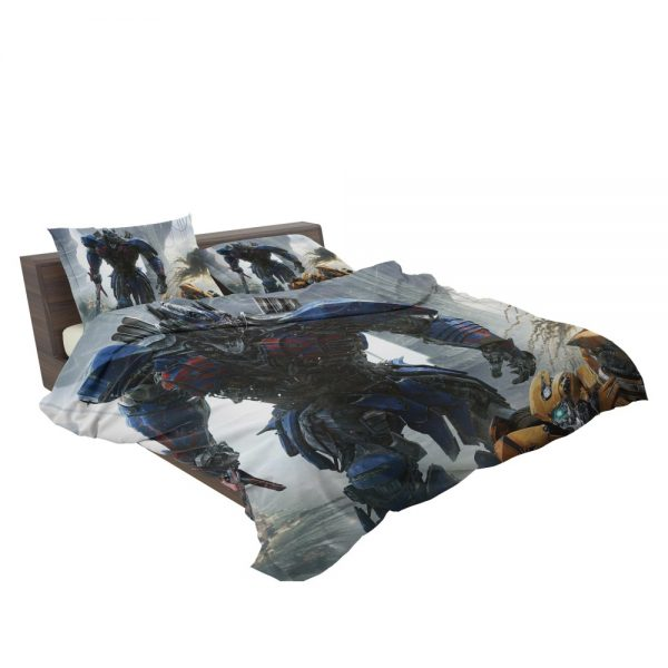 Transformers The Last Knight Movie Optimus Prime Bedding Set 3