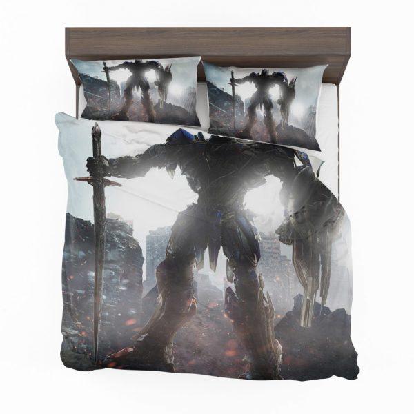 Transformers The Last Knight Movie Optimus Prime Robot Shield Sword Bedding Set 2