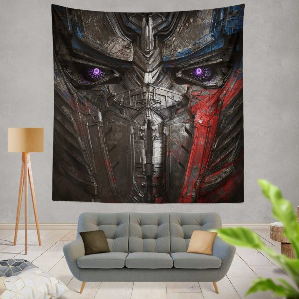 Transformers The Last Knight Movie Optimus Prime Transformers 5 Wall Hanging Tapestry