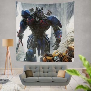 Transformers The Last Knight Movie Optimus Prime Wall Hanging Tapestry