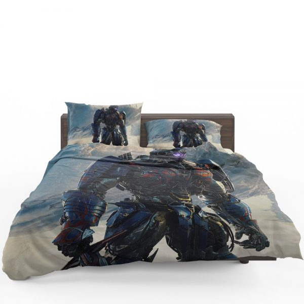 Transformers The Last Knight Sci-fi Thriller Movie Optimus Prime Bedding Set 1