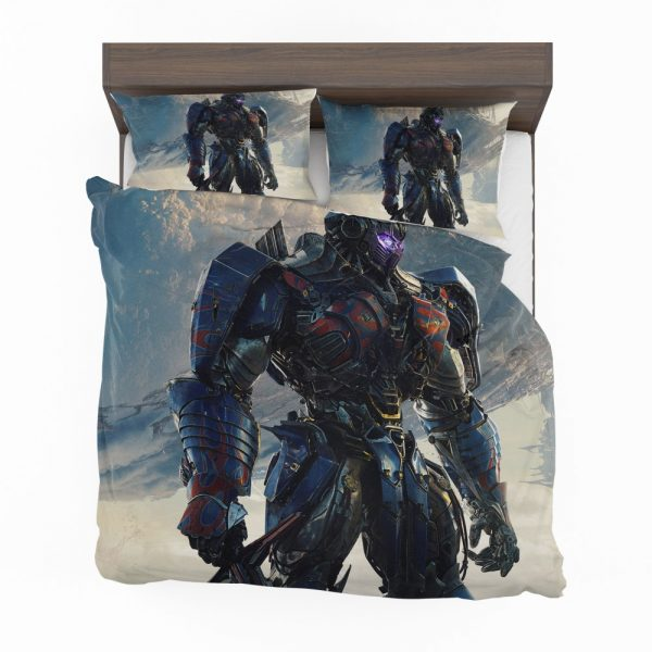 Transformers The Last Knight Sci-fi Thriller Movie Optimus Prime Bedding Set 2