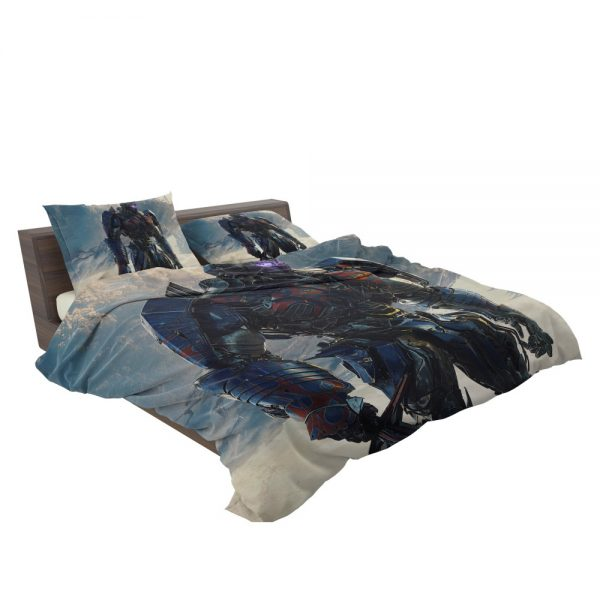 Transformers The Last Knight Sci-fi Thriller Movie Optimus Prime Bedding Set 3
